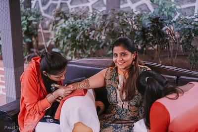 Darshit & Shriti | Haldi & Mehendi