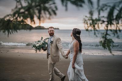 Megan & Joshua, Destination Wedding Costa Rica
