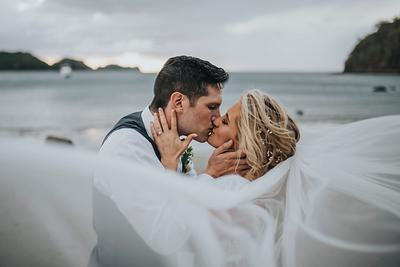 Jared & Katie, Destination Wedding in Dreams Las Mareas, Costa Rica