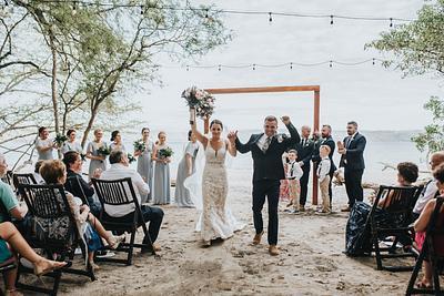 Kirsten & Tristan, Destination Wedding Andaz Papagayo, Costa Rica