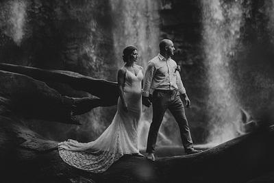 Cortnee & Kyle, Waterfall Elopement Costa Rica