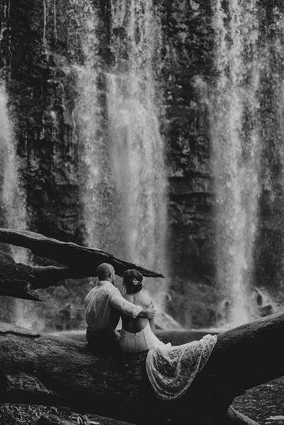 Waterfall Elopement Guanacaste Costa Rica