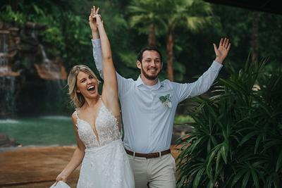 Naomi & Cory, The Springs Resort and Spa, Elopement La Fortuna Costa Rica