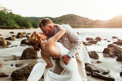 Beth & Jesse, Elopement, Dreams Las Mareas Costa Rica