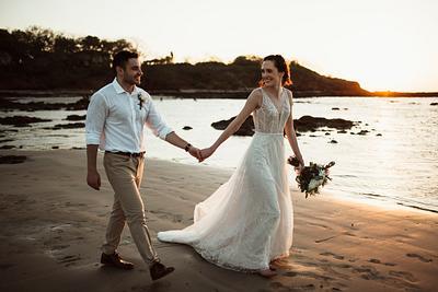 Dana & Ben, Playa Langosta Wedding Costa Rica