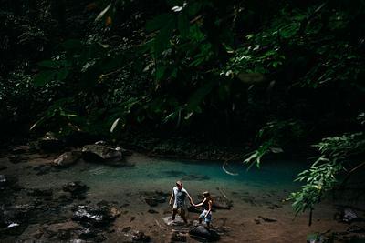 Taylor & David, La Fortuna Waterfall Proposal Costa Rica