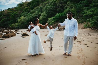 Family Photography - Dreams Las Mareas Costa Rica