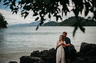 Lauren & Bradley, Couple Photoshoot Costa Rica