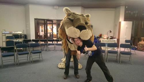 Aslan from Narnia the Musical - 9th Hour Theatre