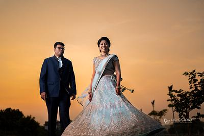 Dinesh + Gowri - an adorable South Indian Wedding at Coimbatore