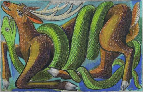 Snake Attacks Antelope