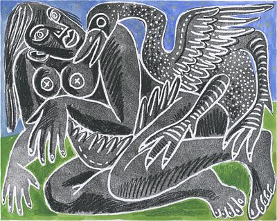 Leda and the Swan III