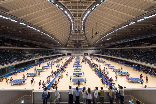 Tokyo Metropolitan Gymnasium ANP