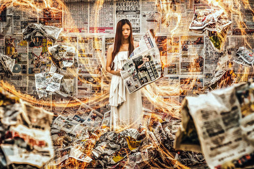 Flaming Truth - Nikon Int'l Photo Contest 2015-2016 Next Generation Award