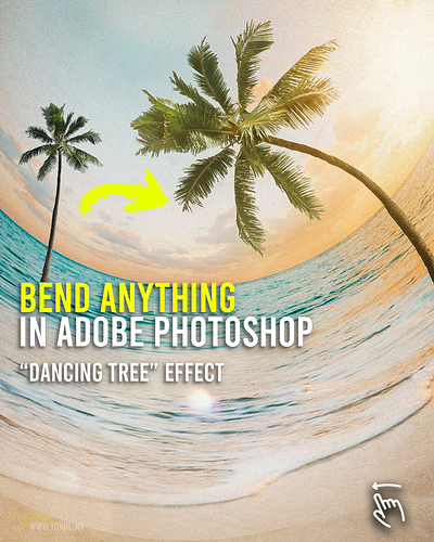 Bend ANYTHING in Adobe Photoshop
