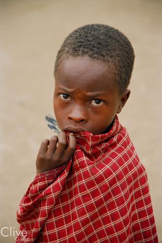 Maasai boy, Tanzania.