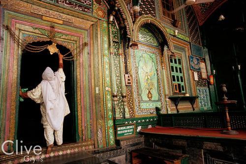 Khangar Shah Hamdan Mosque, Srinagar, Kashmir.
