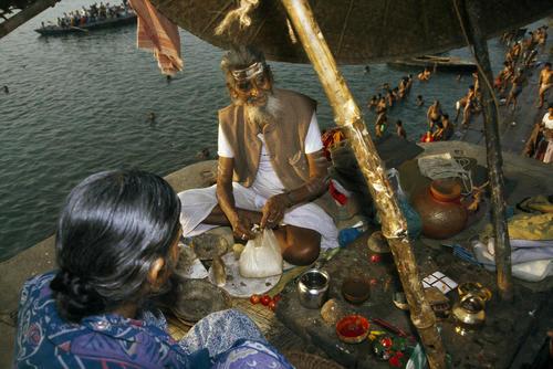 Soothsayer. Varanasi, Uttar Pradesh.