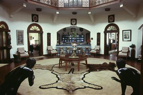 Inside the Palace of the residing Maharaja of Burdwan, Darjeeling, West Bengal.