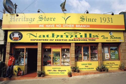 Nathmulls tea shop and rooms, Darjeeling.