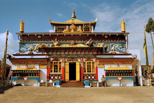 Ghoom Monastery in the village of Ghoom, close to Darjeeling in West Bengal.