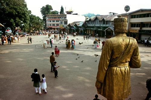 Chowrasta Square, Darjeeling, West Bengal.