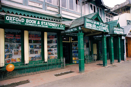 Oxford Book and Stationary store in Darjeeling, West Bengal.