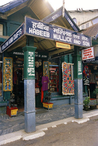 Habbid Mullock and Son…..a gift shop located in Chowrasta, Darjeeling, West Bengal.