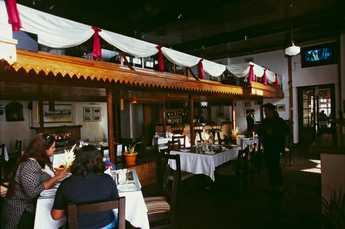 The new restaurant/extension at the Planter's Club, Darjeeling.