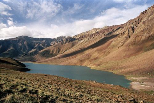 Chandratal Lake, Spiti Valley, Himachal Pradesh.
