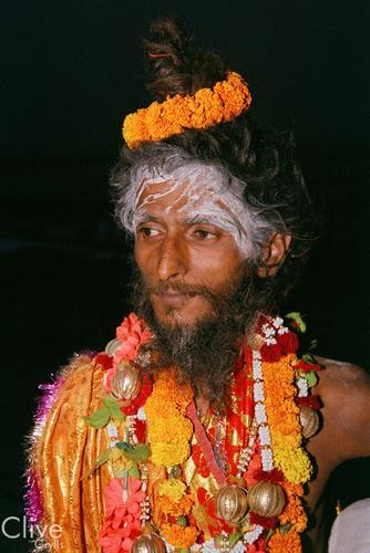 Sadhu. Varanasi, Uttar Pradesh.