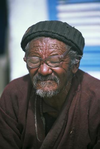 Local man at Korzok, Ladakh.