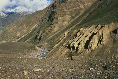 The sometimes barren wilderness of the Ladakhi region.