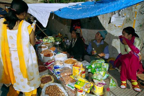 Local stall at Leh, Ladakh.
