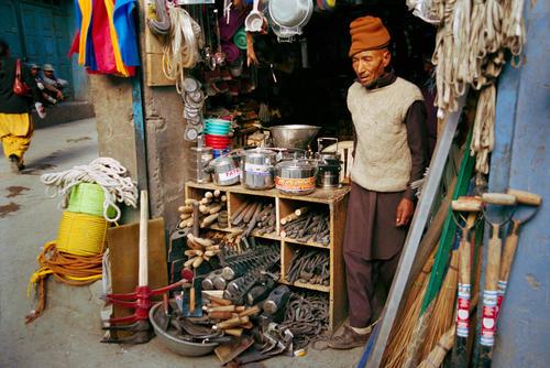 Local shop, Leh, Ladakh.