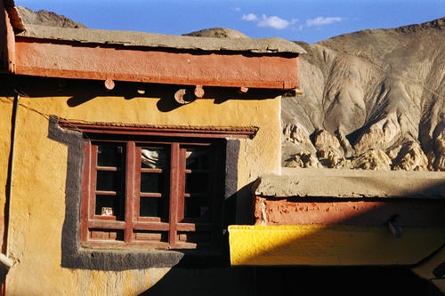 Outhouse at Hemis temple, Ladakh.