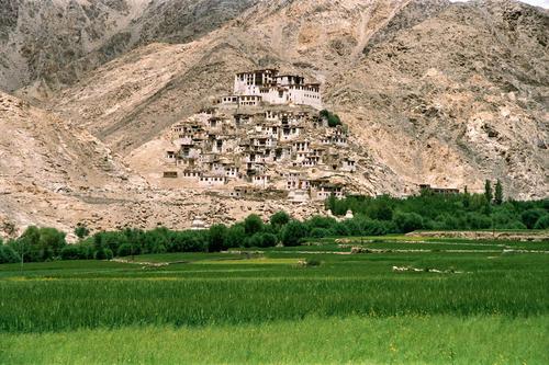Chemde temple, Ladakh.