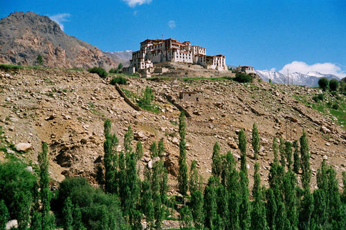 Overview of the Likir temple, Ladakh.