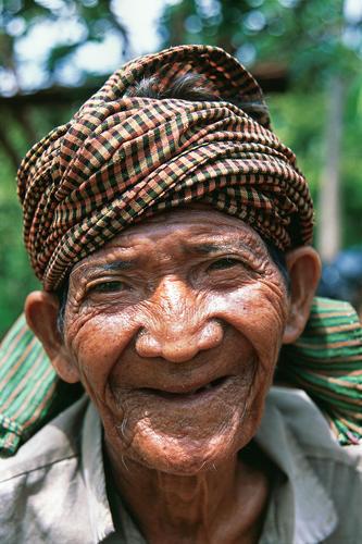 Tribal man, Mondulkiri Province, Cambodia.