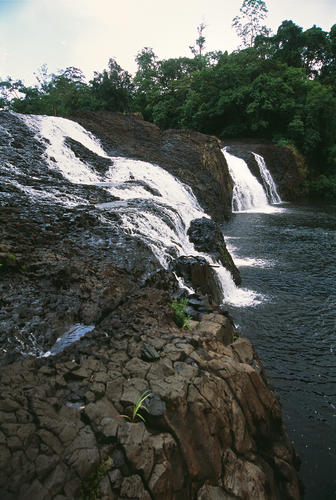 Ta Tai Waterfall close to the town of Koh Kong, Koh Kong Province, Cambodia.