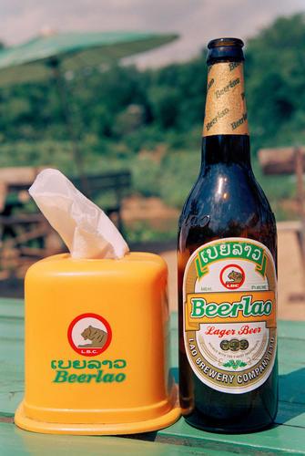 Beer Lao.