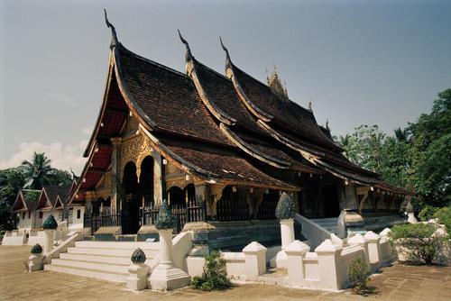 Wat Xieng Thong temple, Luang Prabang.