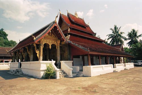Wat Mei temple, Luang Prabang.