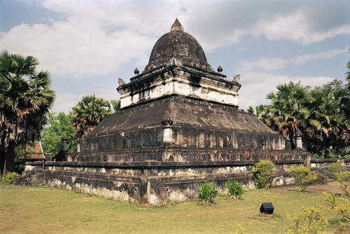Wat Visoun temple, Luang Prabang.