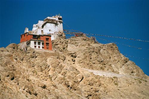 Nangyal Tsemo temple, Leh.
