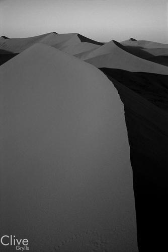 Sand dunes at Sossusvlei. Namibia.