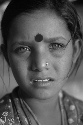 Gypsy/tribal girl. Pushkar, Rajasthan.