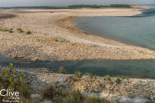 The Karnali River in Bardia National Park