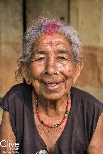 Tharu woman in the Madi region of Chitwan National Park
