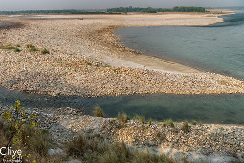 The Karnali River in Bardia National Park
